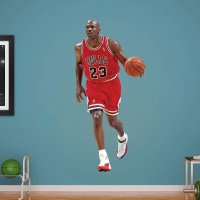 Fathead NBA Chicago Bulls Michael Jordan Wall Decal ...