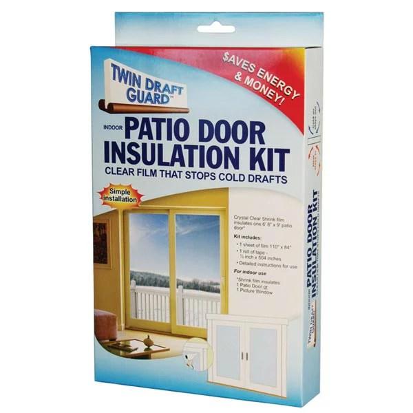 patio door insulation kit