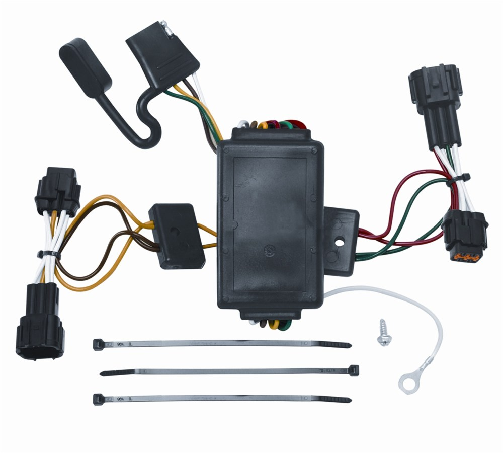 medium resolution of vehicle to trailer wiring harness connector for 09 12 nissan cube plug play walmart