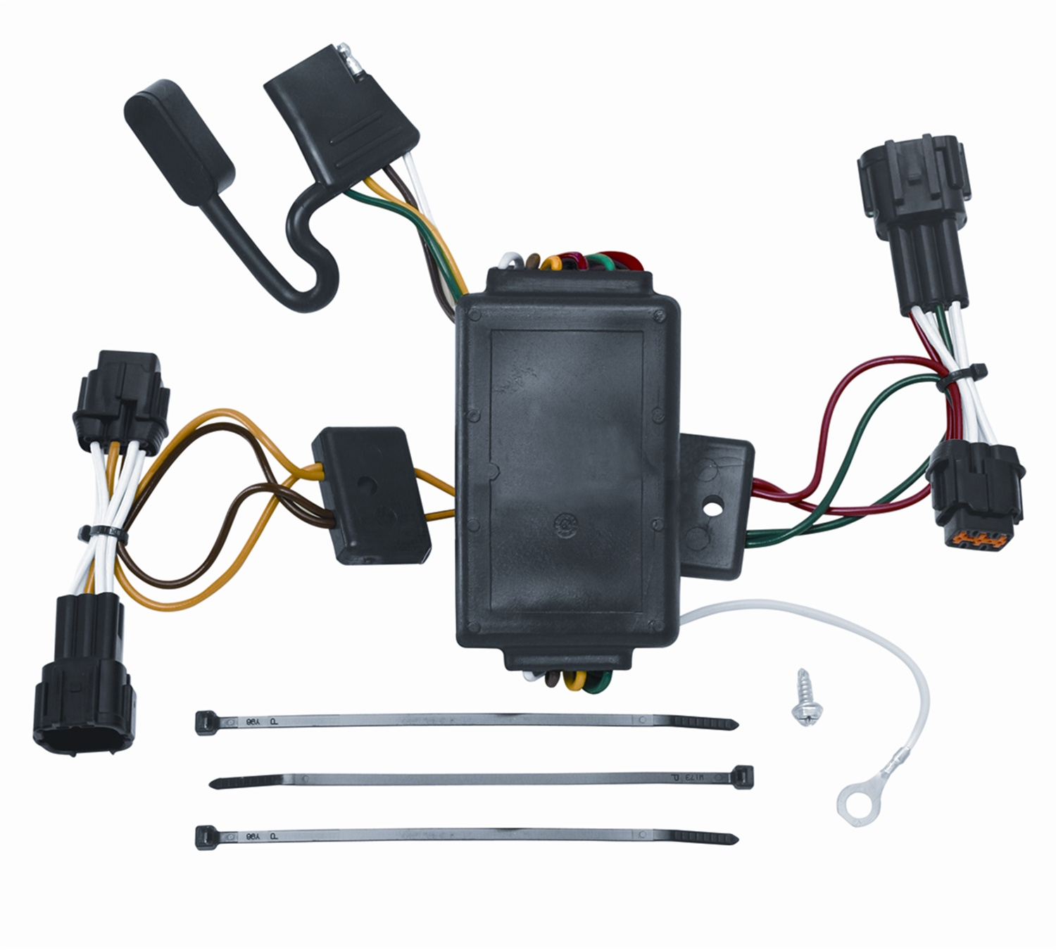 hight resolution of vehicle to trailer wiring harness connector for 09 12 nissan cube plug play walmart