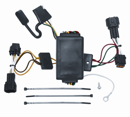 small resolution of vehicle to trailer wiring harness connector for 09 12 nissan cube plug play walmart