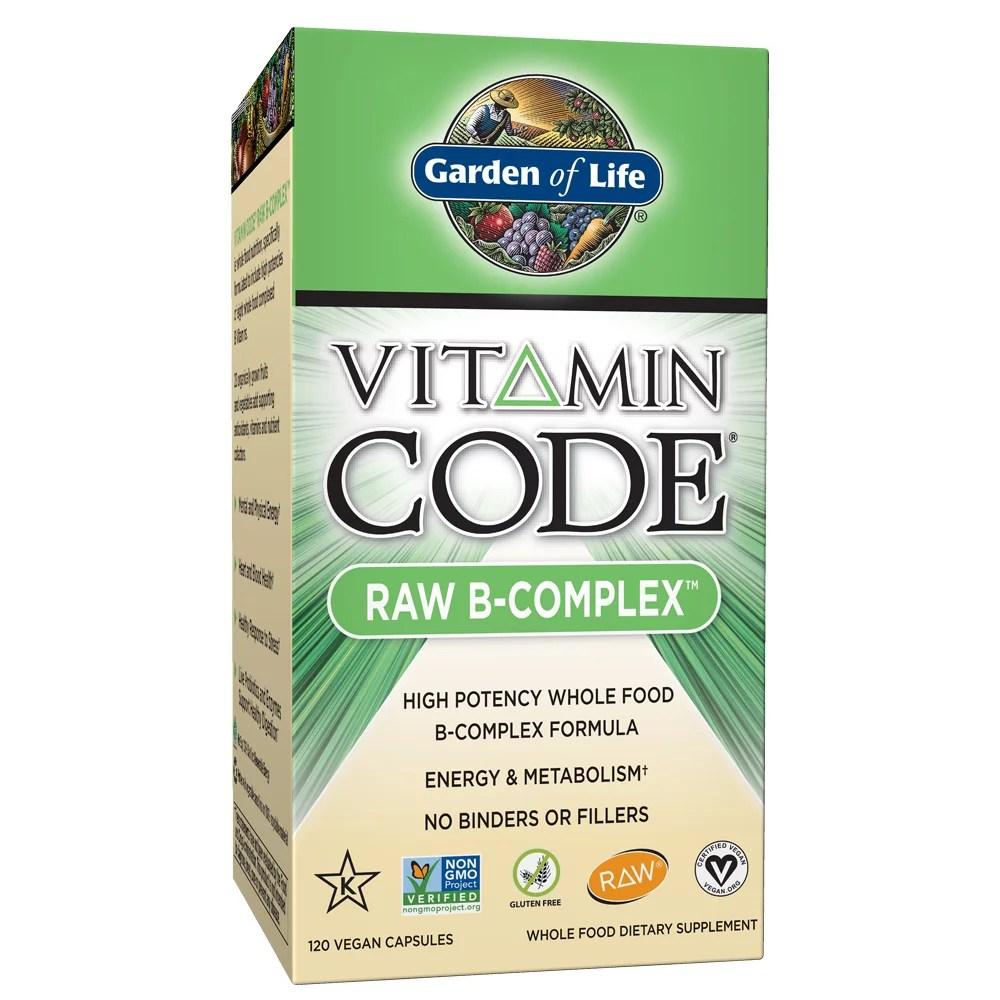 Garden of Life Vitamin Code Vitamin B Complex 120 Capsules
