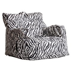 Double Saucer Chair Black Mid Century Upholstered Chairs Zebra Print Gallery Of