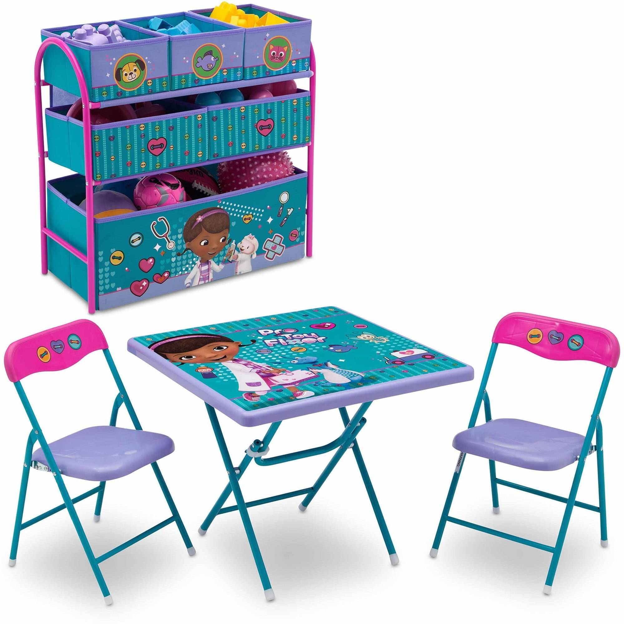 mickey mouse clubhouse table and chair set pink inflatable throne fun tables chairs for kids