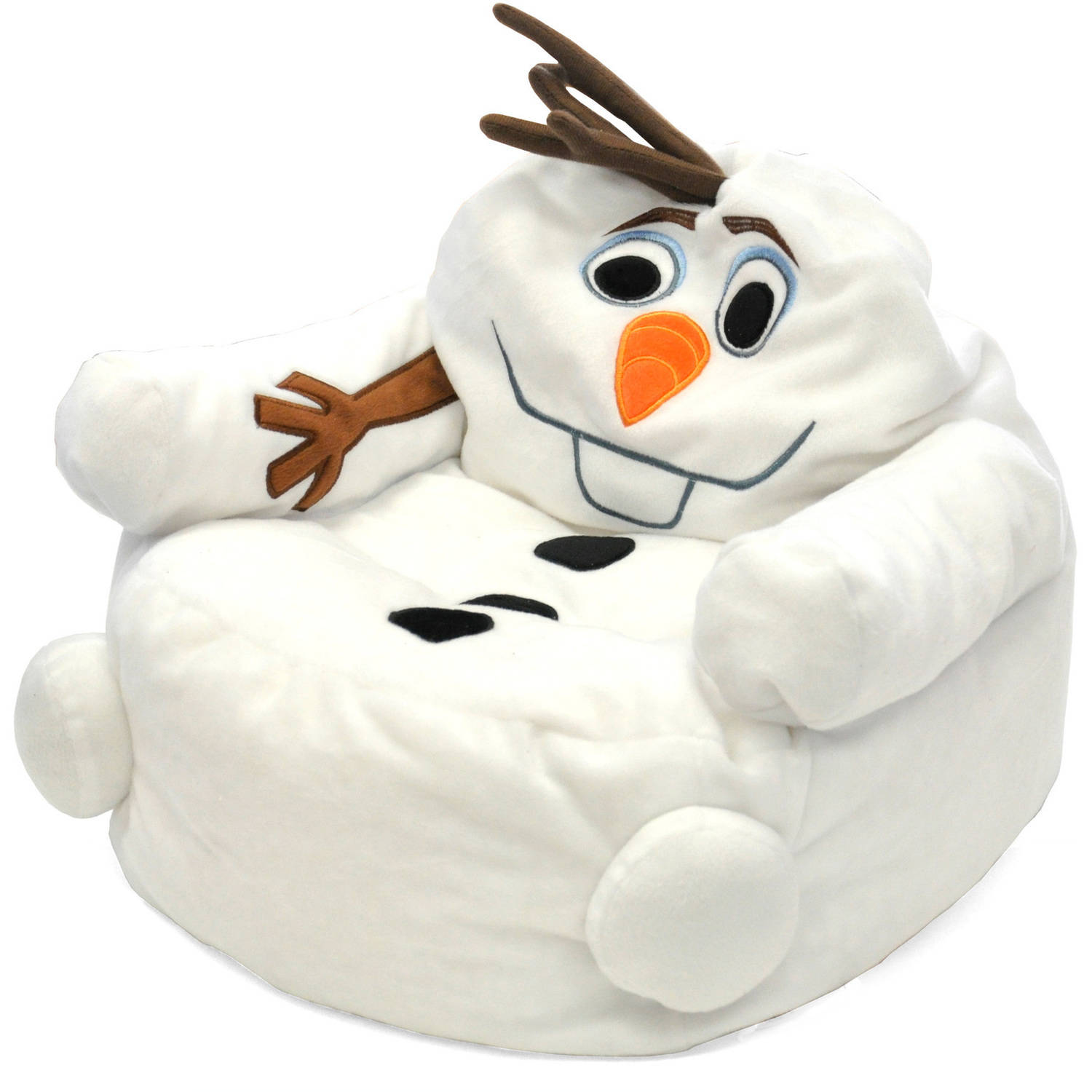 bean bag chair for toddler aeron size c frozen olaf character figural walmart com