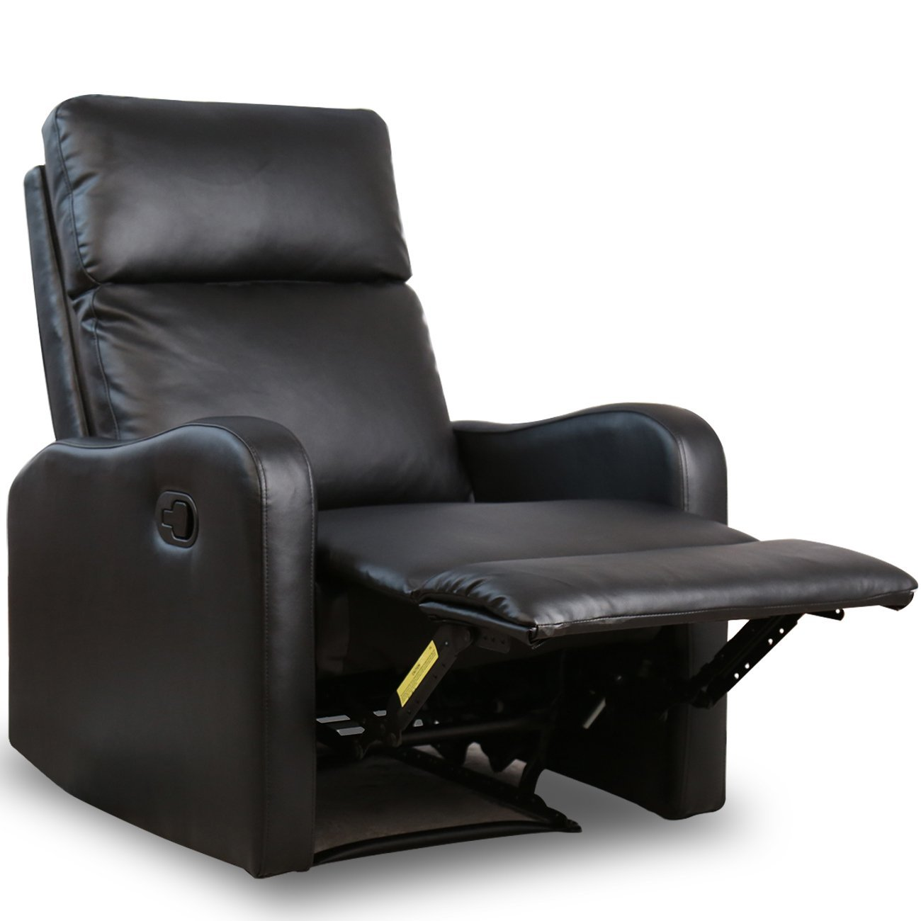 Modern Leather Chairs Bonzy Recliner Chair Black Leather Chairs For Modern Living Room Durable Framework