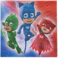 PJ Masks Party Paper Lunch Napkins, 16ct - Walmart.com