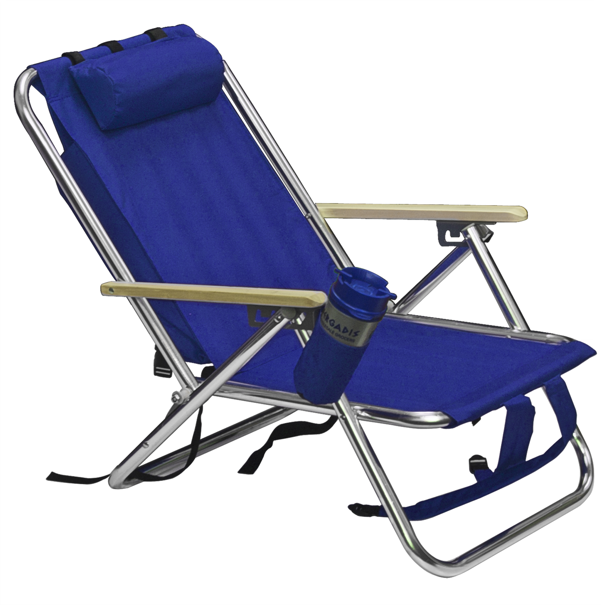 Best Choice Products Portable Folding Seat Backpack Chair