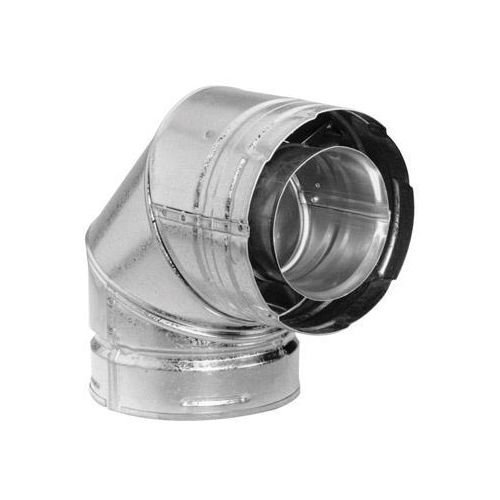 Simpson Duravent 90 Degree Elbow Exhaust Pipe Direct Vent