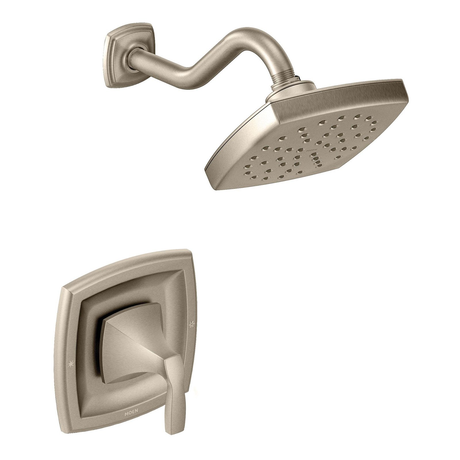 Moen T3692orb Voss Single Handle Pressure Balanced Moentrol With Rain Shower Head Available In Various Colors