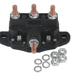 new relay winch motor reversing solenoid switch fits 12 volt 24450bx 214 1211a51 walmart com [ 1500 x 1313 Pixel ]