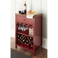 10 Spring Street Hinsdale Wine Cabinet, Multiple Colors ...