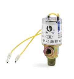 train truck metal silver tone air horn electric solenoid valve 1 4 24v walmart com [ 1100 x 1100 Pixel ]
