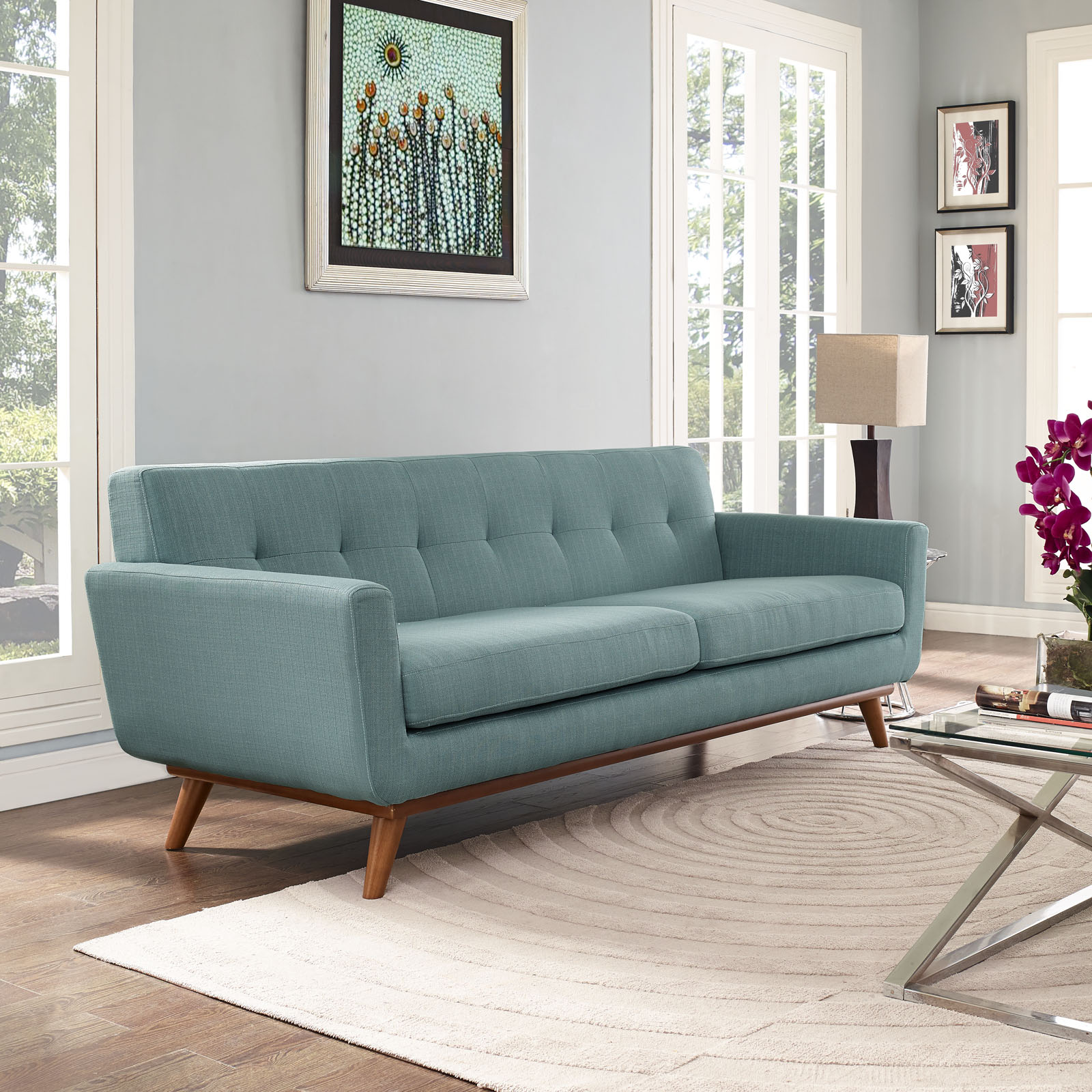 spiers sofa review mexico vs cuba sofascore modway engage upholstered tufted multiple colors walmart com