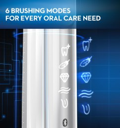 oral b 8000 electronic toothbrush 30 instant rebate available black powered by braun walmart com [ 2500 x 2500 Pixel ]