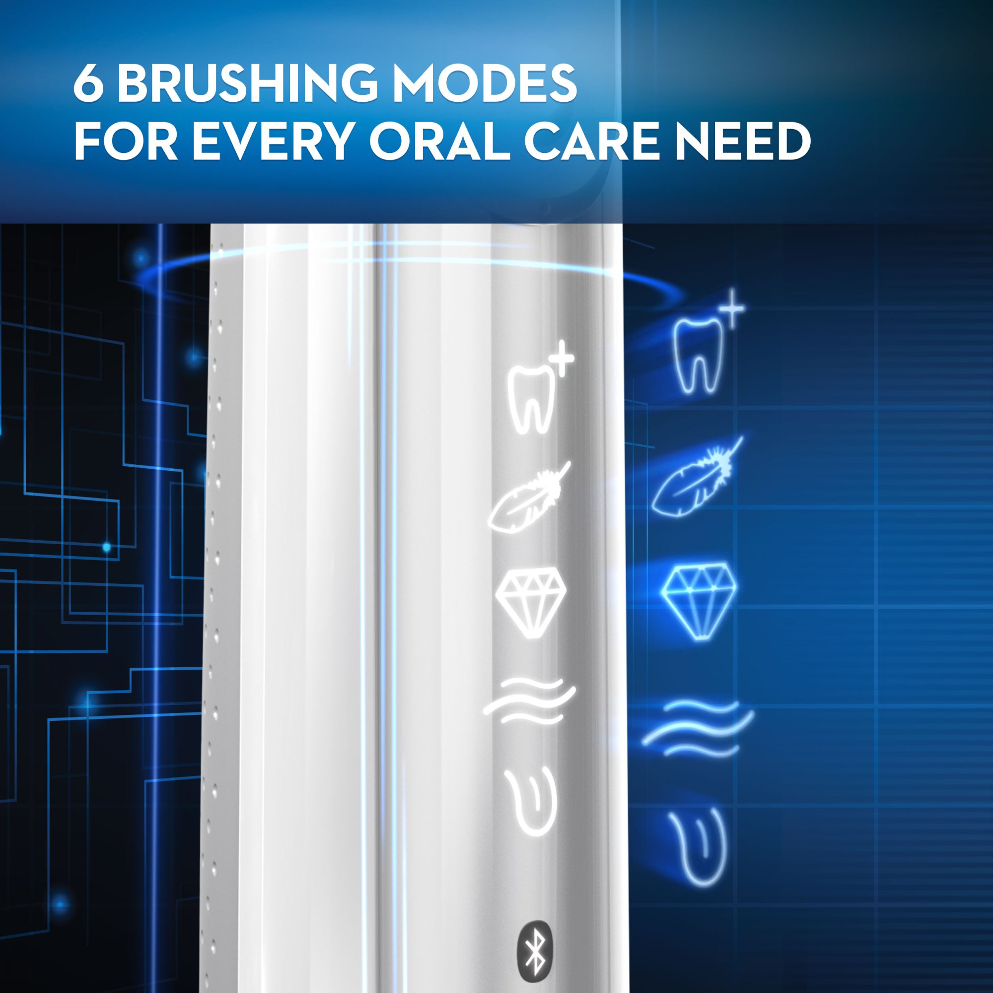 hight resolution of oral b 8000 electronic toothbrush 30 instant rebate available black powered by braun walmart com