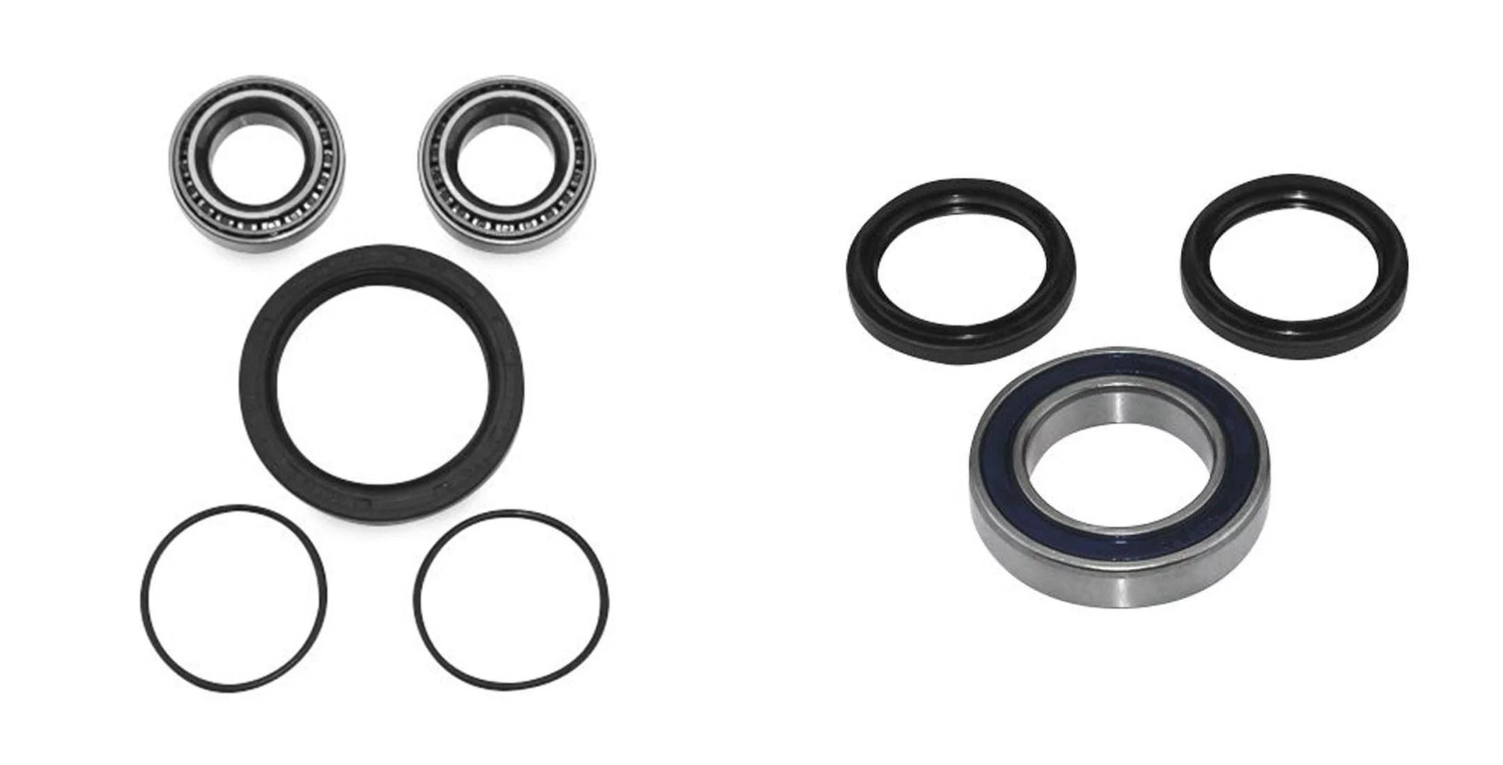 QUADBOSS Front and Rear Wheel Bearing Kits for Polaris