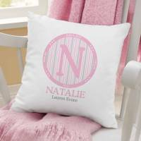 Personalized Baby Monogram Pillow