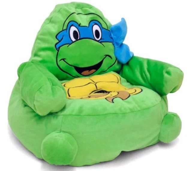 ninja turtles chair nice bean bag chairs character figural toddler walmart com