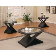 3 Piece Table Set For Living Room Paint Colors A Small Coaster Furniture X Style Coffee Walmart Com
