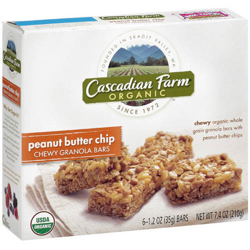 Cascadian Farm Organic Peanut Butter Chip Chewy Granola