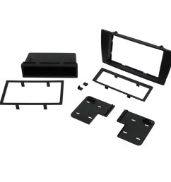 scosche jr8200b 2002 2008 jaguar x type iso double din mounting dash kit for car radio stereo installation black walmart com [ 1500 x 1500 Pixel ]