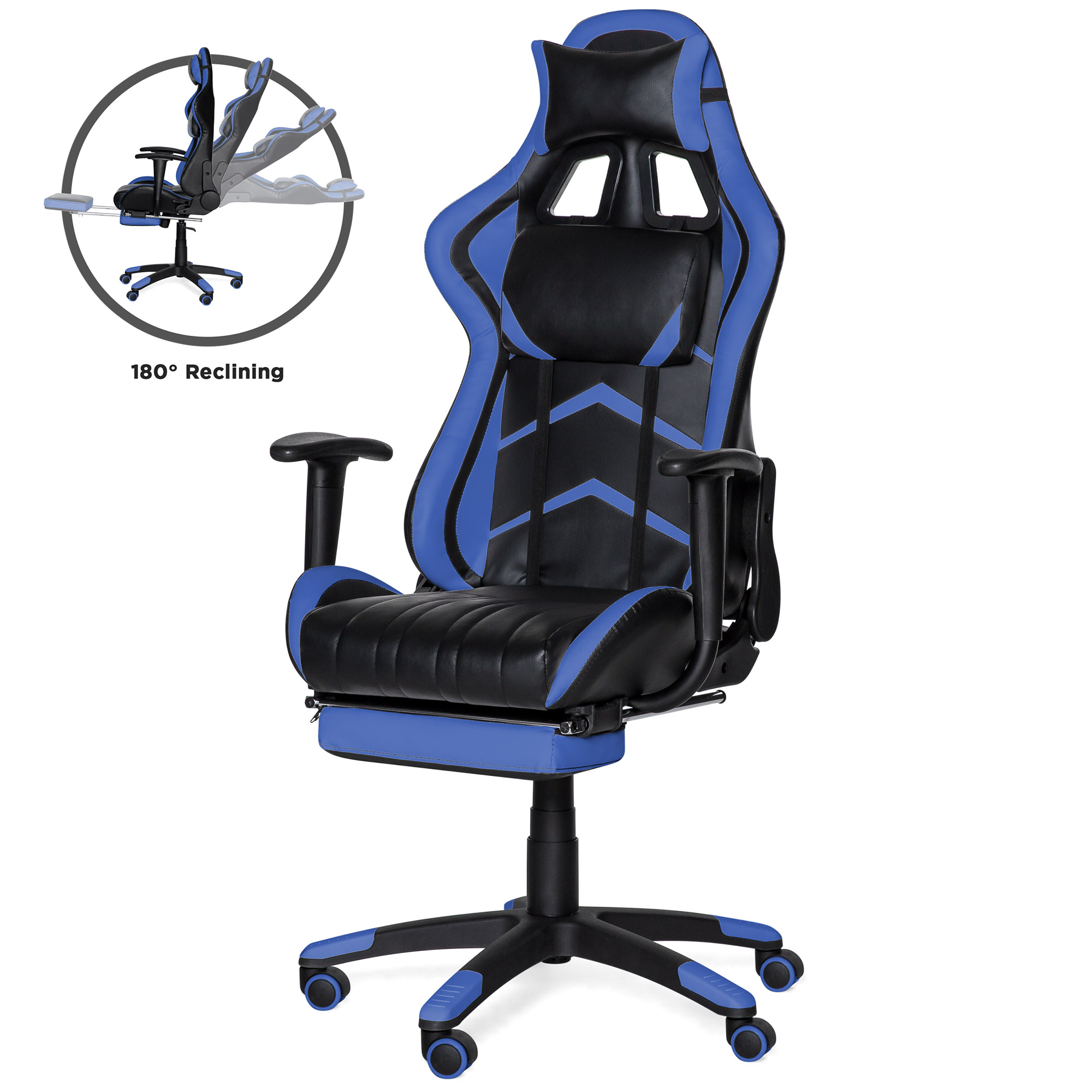 gaming chair best egg garden cover choice products ergonomic high back executive office computer racing w 360