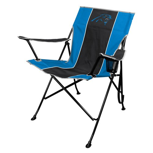 carolina panthers folding chairs ivory chair covers nfl tailgate by rawlings walmart com