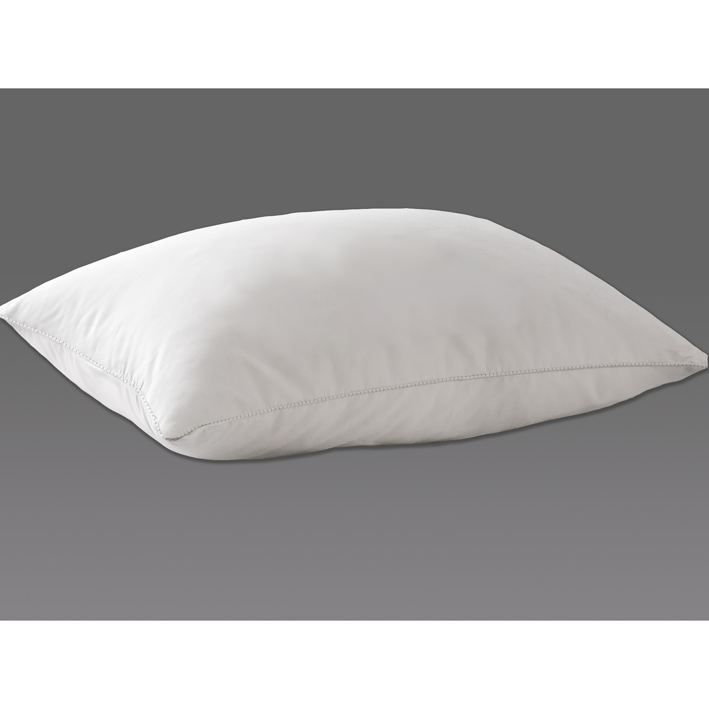 hotel grand white down pillow bed