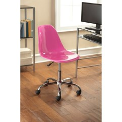 Contemporary Office Chairs Massaging Chair Mainstays Multiple Colors Walmart Com