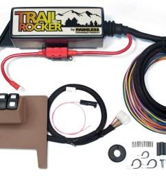 painless performance 57001 pan57001 trail rocker system jeep wrangler jk 2011 15 auto only tan dash panel walmart com [ 1500 x 902 Pixel ]
