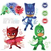 Roommates PJ Masks Peel and Stick Wall Decals with Glow ...