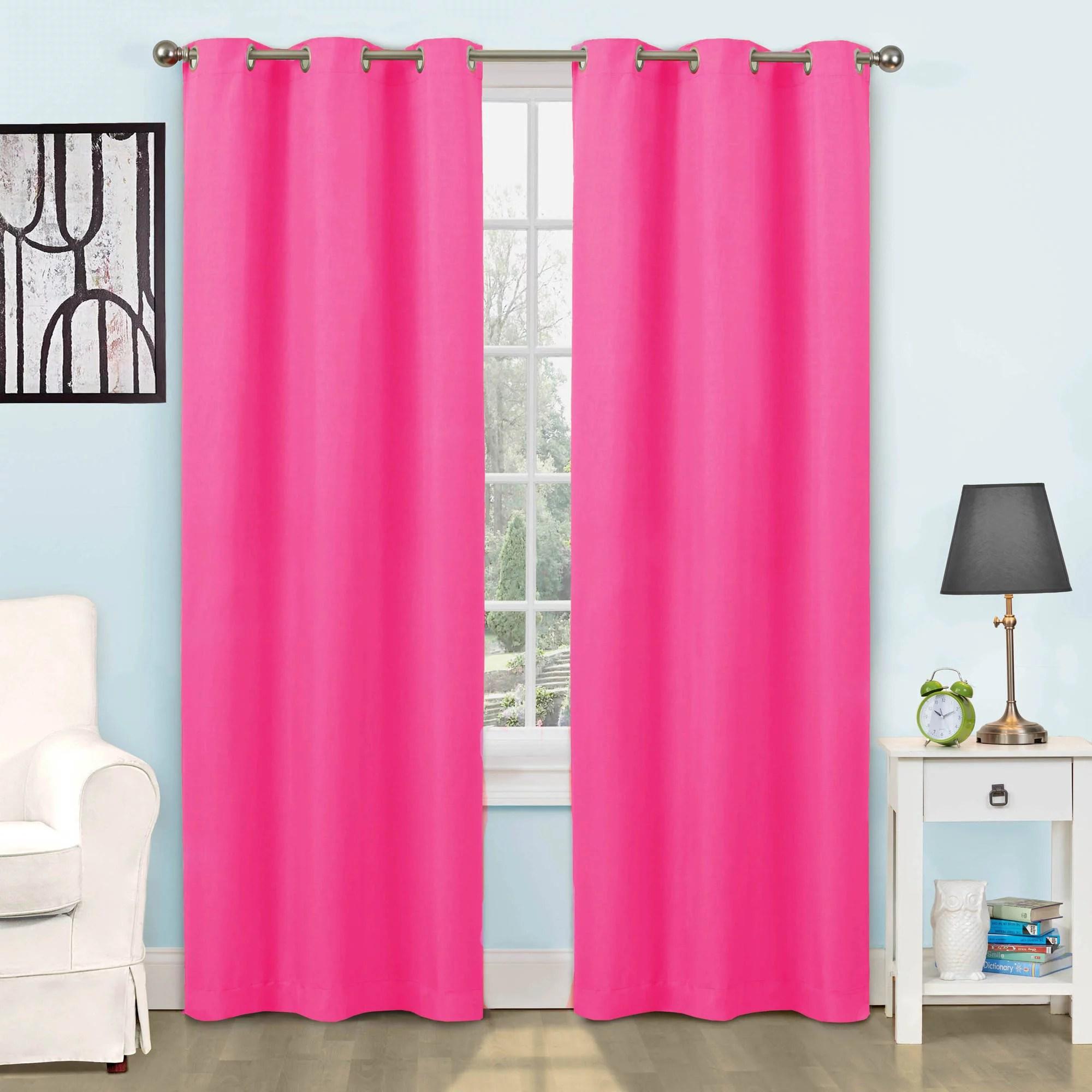 Eclipse Dayton Blackout Energy Efficient Kids Bedroom Curtain Panel