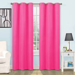 Living Room Curtains Walmart European Eclipse Thermal Blackout Tricia Window Curtain Panel Pairs Com