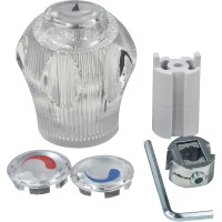 Peerless Faucet/Shower Replacement Handle, Clear - Walmart.com