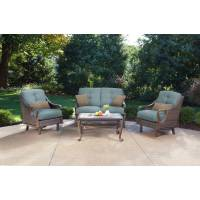 Hanover Outdoor Ventura 4-Piece Patio Set - Walmart.com