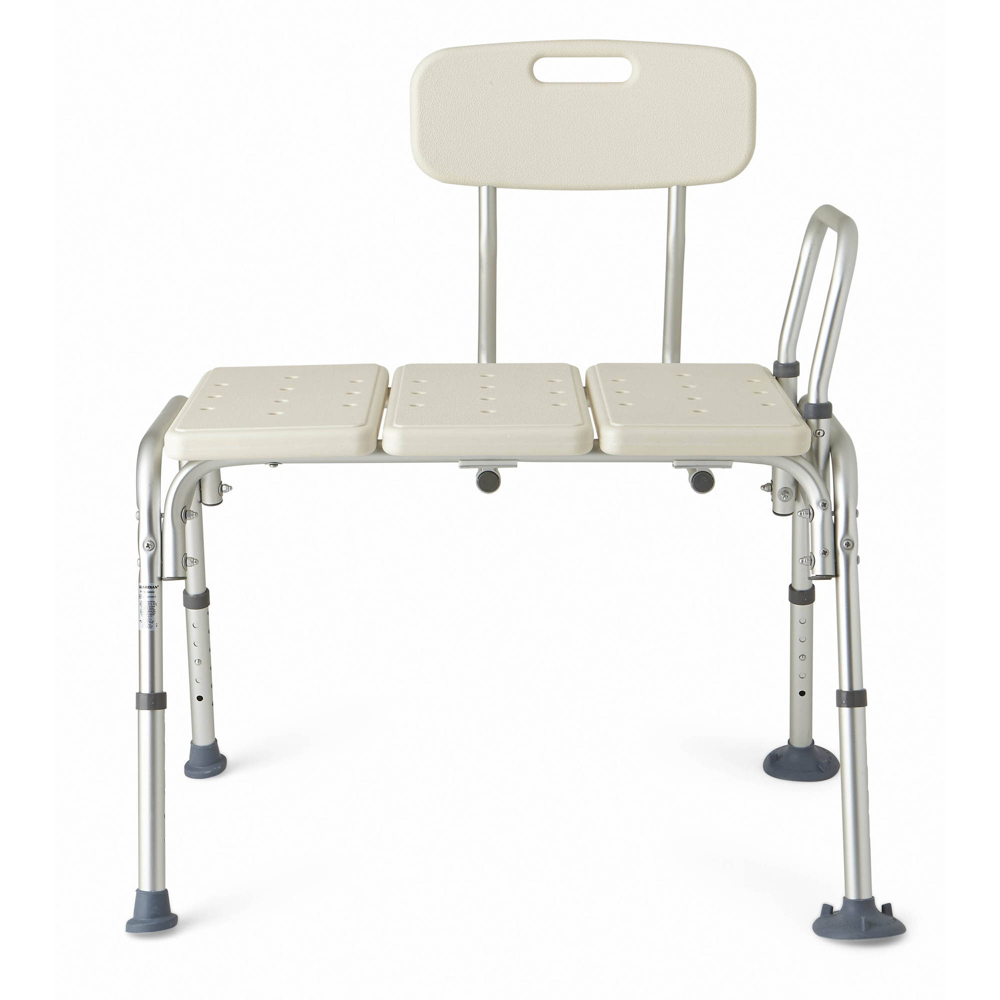transfer shower chair unique baby chairs medline height adjustable bench with backrest tool free assembly walmart com