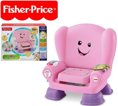 fisher price laugh and learn chair pink covers wedding diy smart stages includes technology 50 sing along new walmart com
