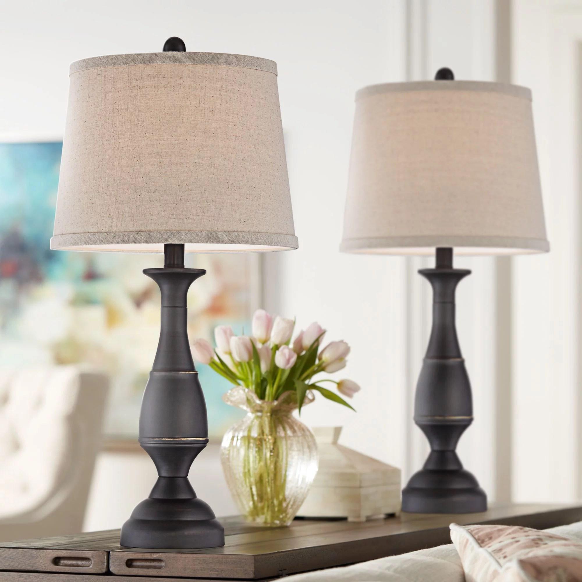 sets of 2 bedroom lamps walmart com