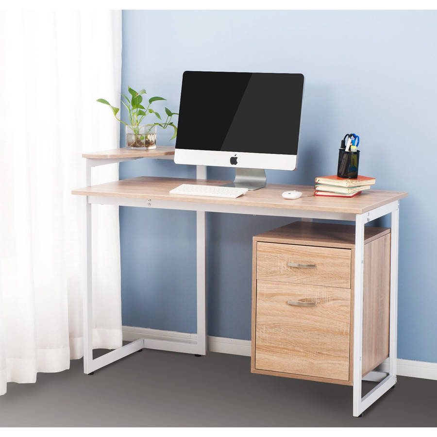 Merax Stylish Computer Desk Home and Office Table