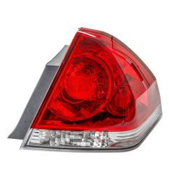 tyc 11 6179 00 1 passenger side tail light for 06 12 chevrolet impala gm2801193 walmart com [ 1500 x 1500 Pixel ]