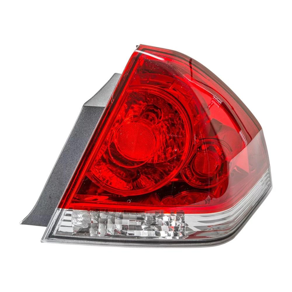 medium resolution of tyc 11 6179 00 1 passenger side tail light for 06 12 chevrolet impala gm2801193 walmart com