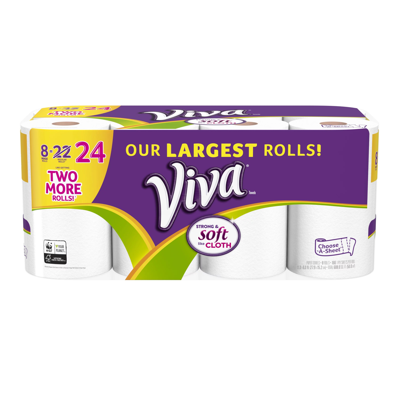 viva paper towels choose