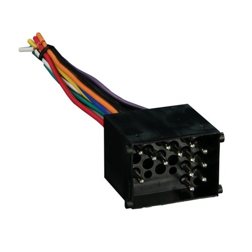 small resolution of 70 8590 radio wiring harness for bmw 90 02 power 4 speaker plugs into oem radio by metra walmart com