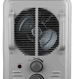 pelonis hv 1004 900 1500 watt white milkhouse utility heater with thermostat walmart com [ 1201 x 1800 Pixel ]