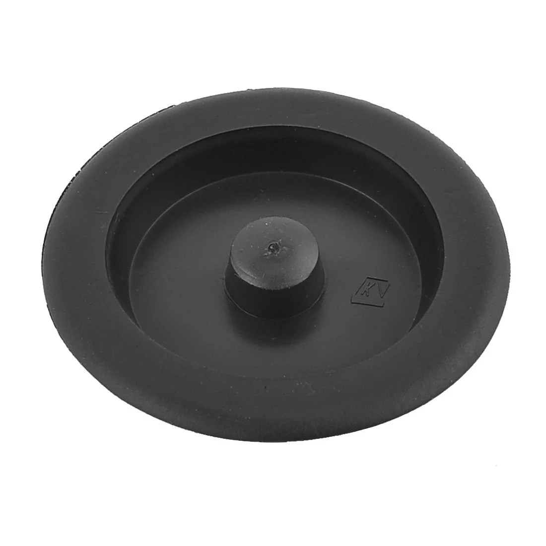kitchen sink plug hole fitting white marble countertops plastic basin water disposal stopper for bathroom fit 65mm black walmart com