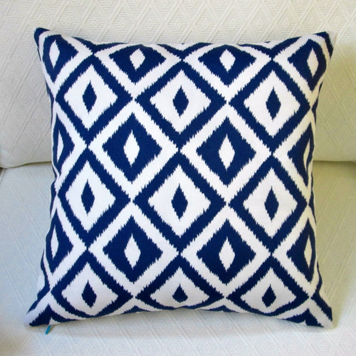 artisan pillows coastal geometric