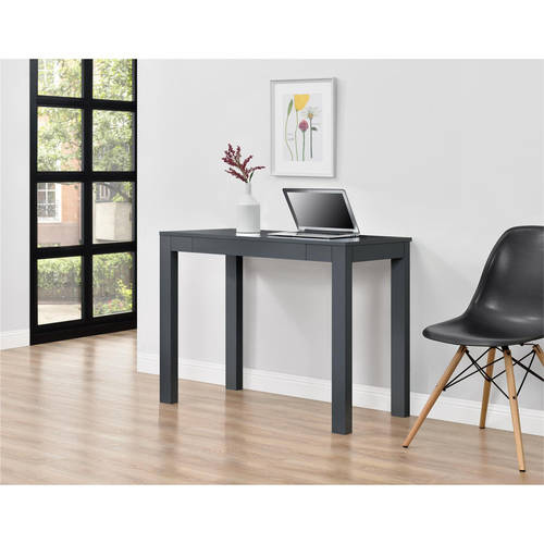 Mainstays Parsons Desk with Drawer Multiple Colors