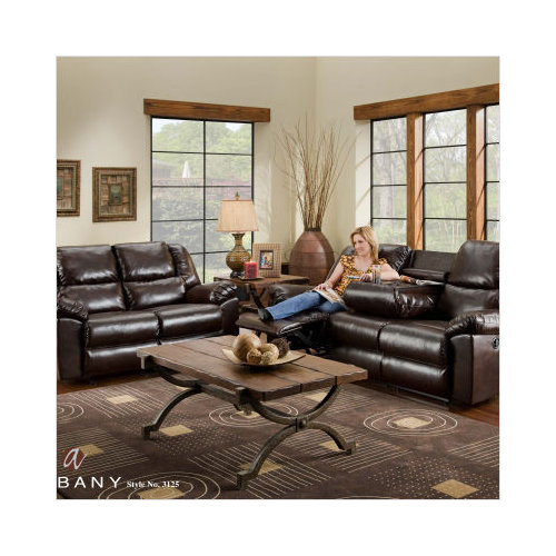 albany leather sofa bed support mat uk amalfi recliner with drop down table and massage walmart com