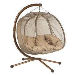 Swing Chair Wayfair Large Rocking Cushions Flowerhouse Textilene Hanging Pumpkin Walmart Com